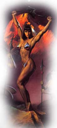 Athena by Boris Vallejo